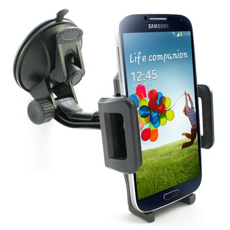 360 universal kfz halterung smartphone handy navi auto lkw pkw halter drehbar ebay. Black Bedroom Furniture Sets. Home Design Ideas